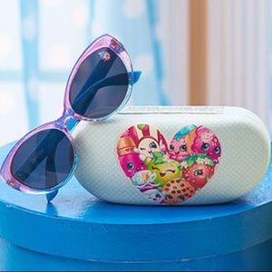 NWT! Shopkins Sunglasses and Matching Case Set
